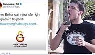 Galatasaray'ın Belhanda ve Gomis'i KAP'a Bildirmesiyle Bayram Sevinci İkiye Katlanan 16 Taraftar