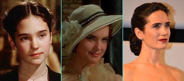 6. Bir Zamanlar Amerika'da (1984)   Jennifer Connelly - Elizabeth McGovern - Jennifer Connelly (Günümüz)