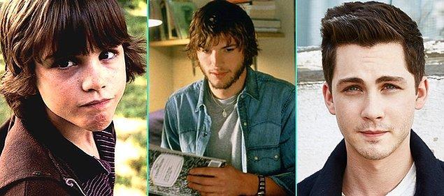 20. Kelebek Etkisi (2004)   Logan Lerman - Ashton Kutcher - Logan Lerman (Günümüz)
