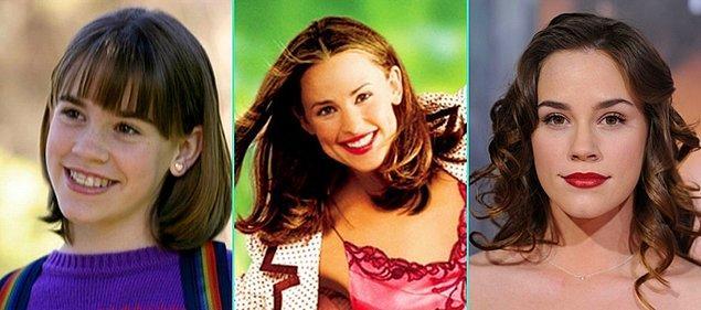 9. Keşke 30 Olsam (2004)   Christa Brittany Allen - Jennifer Garner - Christa Brittany Allen (Günümüz)