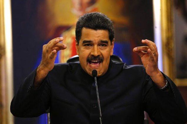 Cumhurbaşkanı Maduro, saldırıda helikopterden el bombaları atıldığını söyledi ve güvenlik güçlerinin, saldırının arkasındakileri yakalayacağına dair söz verdi.