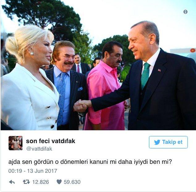 10. Cumhurbaşkanı Erdoğan'ın Verdiği Bol Ünlülü İftara Mizahıyla Katılmış 15 Kişi