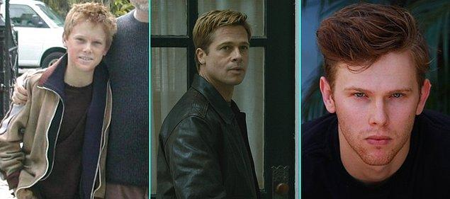 10. Benjamin Button'ın Tuhaf Hikayesi (2008)   Spencer Daniels - Brad Pitt - Spencer Daniels (Günümüz)