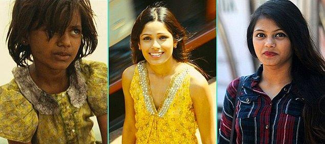 14. Slumdog Millionaire (2008)   Rubina Ali - Freida Pinto - Rubina Ali (Günümüz)