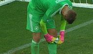 Alman Kalecinin İlginç Ama Başarılı Penaltı Kurtarma Taktiği