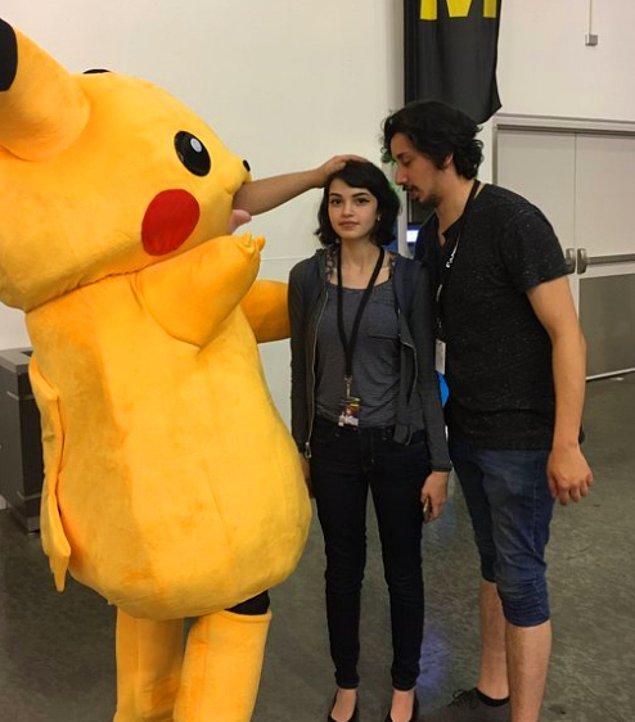 13. Pikachu sevmesi