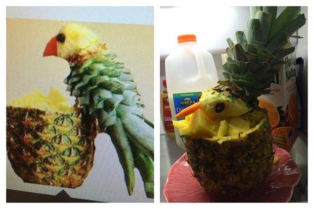 14. Ananas kuş