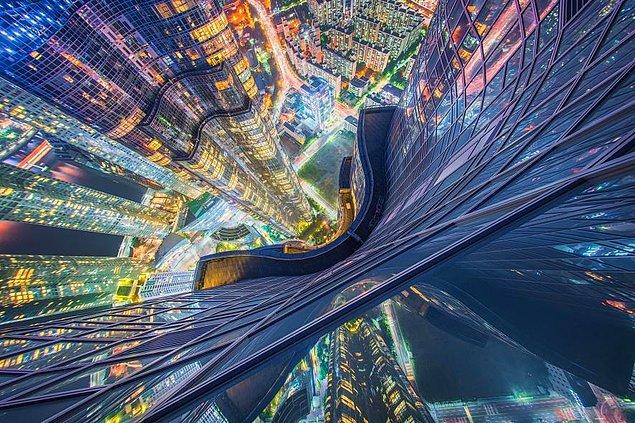 7. Asya'nın en uzun apartmanı Zenith Güney Kore'de yer alıyor.