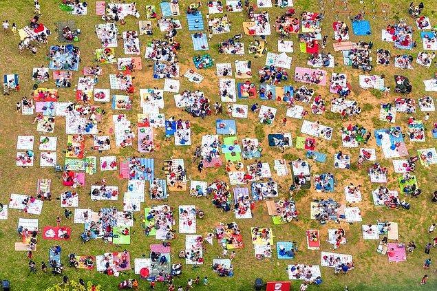 30. Singapur'da pazar pikniği