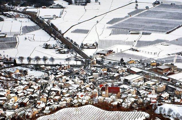 35. Kuzey İtalya'da Schluderns Komünü