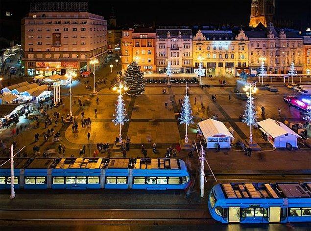 36. 'Bir Noel Akşamı' Ban Jelačić Meydanı, Zagreb