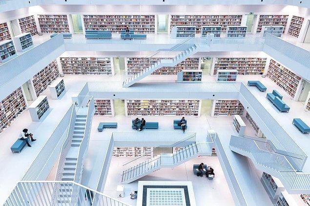 39. Stuttgart şehir kütüphanesi, Almanya