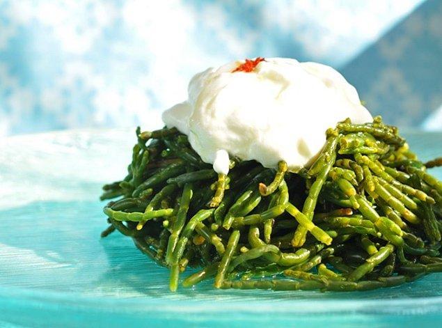 3. Denizlerden gelen bir börülce salatası da olabilir!
