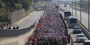 25 Fotoğraf ile İkinci Haftasını Geride Bırakan 'Adalet Yürüyüşü'