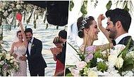 Dört Gözle Beklenen Gün Nihayet Geldi! Fahriye Evcen ile Burak Özçivit Masalsı Bir Düğünle Evlendi!