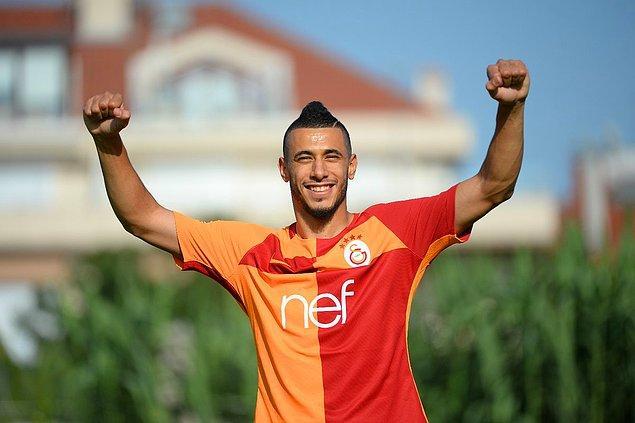 81. Younes Belhanda ➡️  Galatasaray