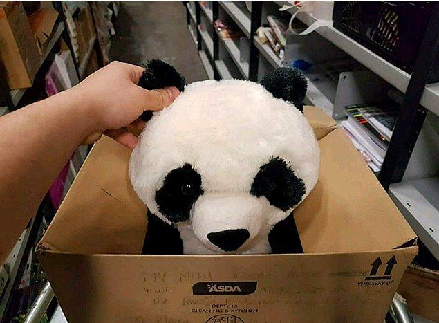 """4. """"Çocuk istediği panda oyuncağın kutusuna """"Annemin parası olmadığı için haftaya alacak,lütfen onu almayın"""" diye not bırakmış, masumluk kazanmış."""""""