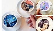 Kahve Süsleme İşini Arşa Çıkaran Sanatçıdan İçmeye Kıyamayacağınız 20 Çalışma