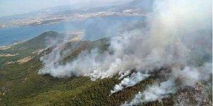 800 Hektar Kül Oldu: İzmir'deki Orman Yangını Üç Gün Sonra Kısmen Kontrol Altında...