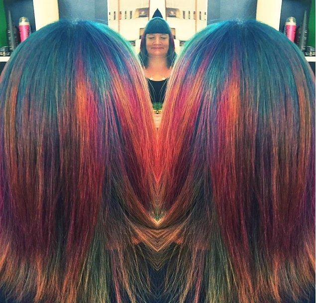 Çünkü her saç birbirinden tamamen farklı oluyor.