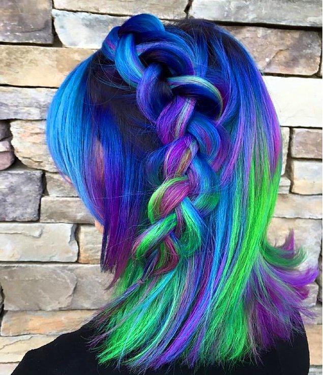 Neon renkler de kullanılabiliyor.
