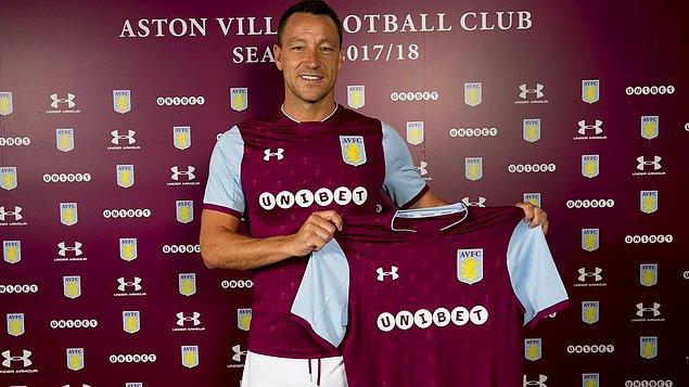 72. Jonh Terry ➡️  Aston Villa