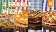 İtalya'nın En Güzeli: 4 Farklı Pizza Nasıl Yapılır?