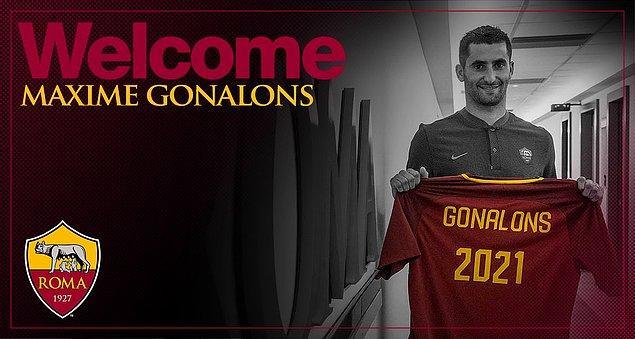 74. Maxime Gonalons ➡️  Roma