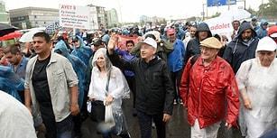 Öne Çıkan Başlıklar ve Fotoğraflar ile Adalet Yürüyüşü'nde 20'nci Gün