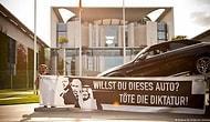 Erdoğan ve Putin'in Yer Aldığı 'Diktatörlüğü Öldür' Pankartı Nedeniyle Türkiye'den Almanya'ya Nota