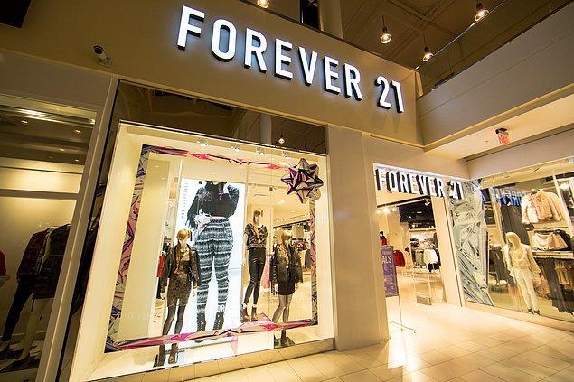 1. Forever 21