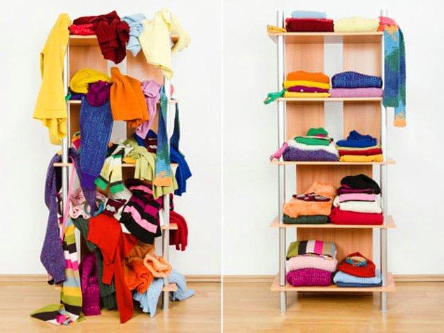 2. Hangi taraf senin kıyafetlerinin durumunu daha iyi özetliyor?