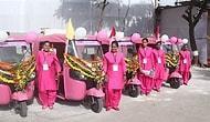 Surat'ta Yeni Pembe Otomatik Çekçek Servisi: Kadınlar Tarafından Kadınlar İçin Şoförlük