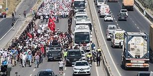 Öne Çıkan Başlıklar ve Fotoğraflarla Adalet Yürüyüşü'nde 22. Gün