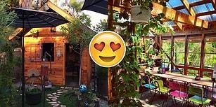 Görünce İçten İçe Kıskançlık Krizlerine Gireceğiniz Rahat ve Sımsıcak 20 Kulübe ve Bahçeleri