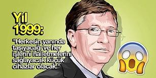Bill Gates'in 1999 Yılında Günümüze Yönelik Yaptığı Okudukça Şaşırtan 'Kehanetler'