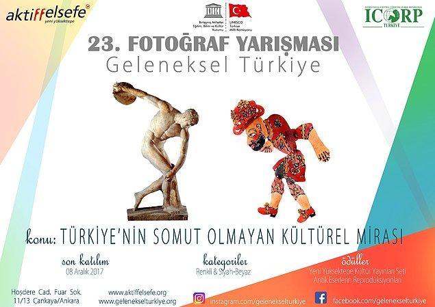 BONUS: Geleneksel Türkiye Fotoğraf Yarışması