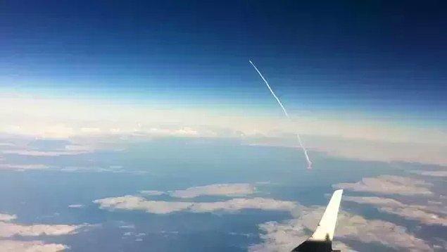 1. 11 Ekim 2000'deki Discovery fırlatışına denk gelen şanslı uçak.