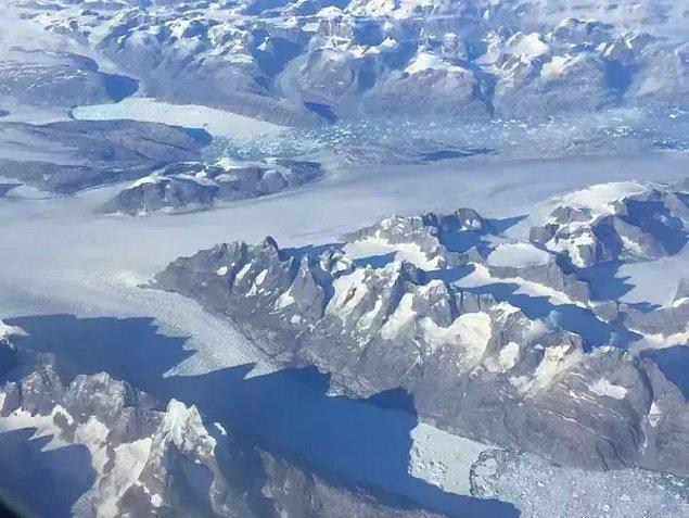 8. Grönland'ın uçsuz bucaksız toprakları.