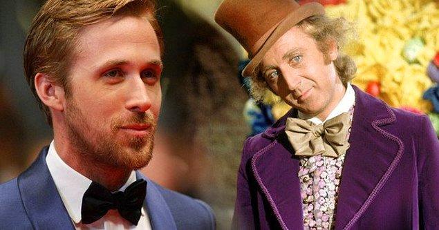 """8. Daha önce Gene Wilder ve Johnny Depp'in hayat verdiği """"Willy Wonka"""" için şu sıralar Ryan Gosling'in adı geçiyor."""