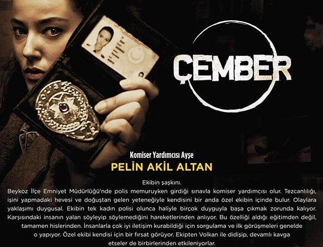 """10. """"Çember"""" adlı yerli polisiye film serisinin her birinde, Türkiye'nin dört bir yanındaki gizemli ve çözülememiş dosyaları aydınlatma çabası işlenecek."""