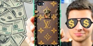 Birbirinden İlginç Bu Telefon Kılıflarından Hangisinin Daha Pahalı Olduğunu Bulamayacaksınız!