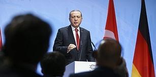 Erdoğan Hamburg'da Demirtaş Hakkındaki Soruyu Yanıtladı: 'Söylediğiniz Kişi Bir Teröristtir'