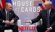 """Yok Artık! """"House of Cards"""" Dizisinin Şaşkınlık Yaratan Trump ve Putin Kehaneti"""
