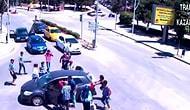 Çorum'da Yaşanan İlginç Trafik Kazası