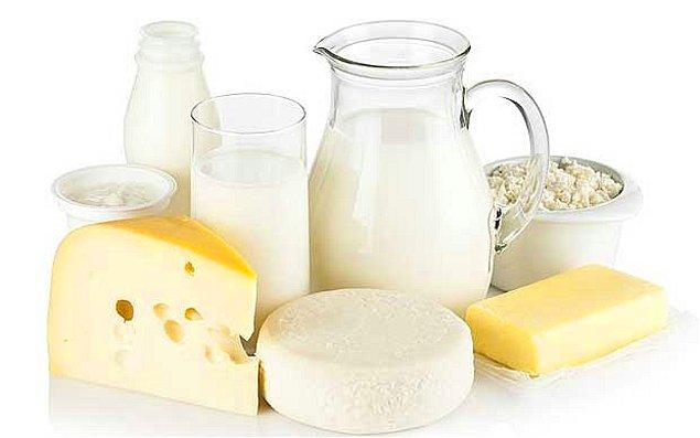 14. Süt ve süt ürünlerini günlük olarak tüketmeye özen gösterin.