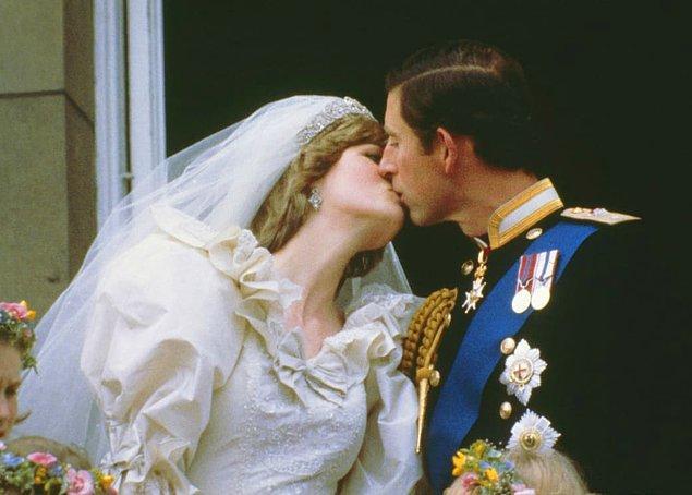 10. Prenses Diana ve Prens Charles