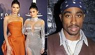 Ellerine Yüzlerine Bulaştırdılar! 2Pac Baskılı Tişörtler Kylie&Kendall Jenner'ı Davalık Etti
