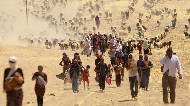 Nadia geçtiğimiz yaz kuzey Irak'ta ögrenciydi ve Kocho köyünde yaşıyordu.