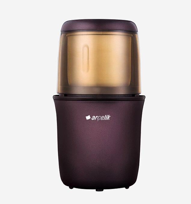 8. Kendi kahve çekirdeklerinizi, kendi baharatlarınızı evinizde kolayca öğütmenizi sağlayacak kahve ve baharat öğütücü